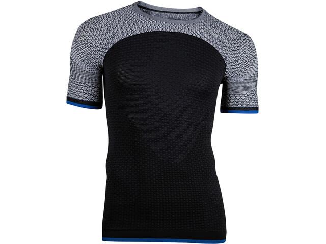 UYN Running Alpha OW Koszulka do biegania z krótkim rękawem Mężczyźni szary/czarny